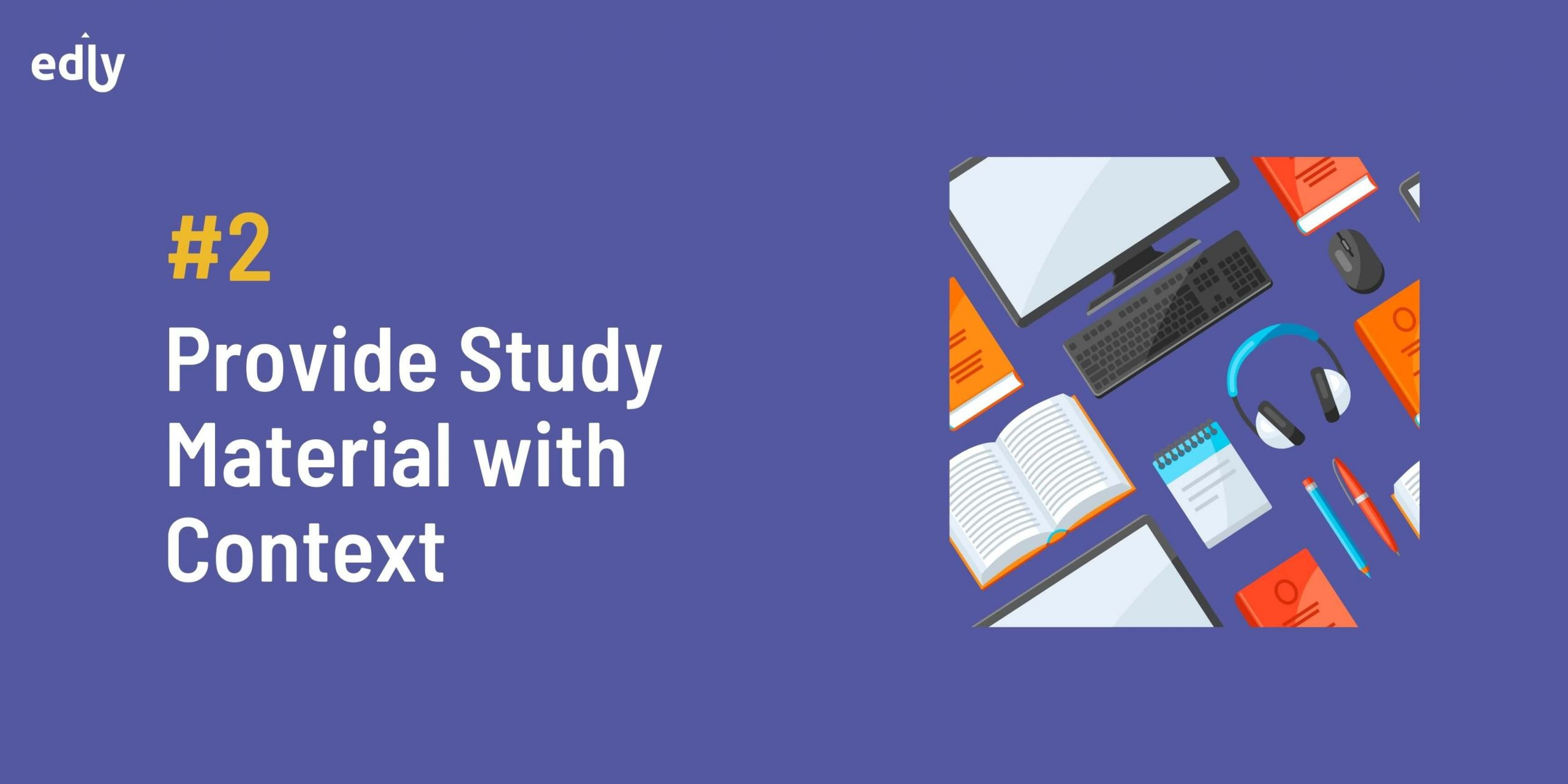 Provide Study Material with Context